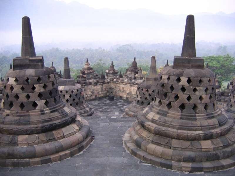 Удивительный храм Индонезии - Боробудур